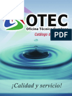 CatáLogo OTEC - LÃ-nea Industrial