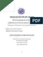 Plan de Marketing de Una Pyme.