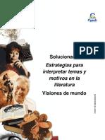 Solucionario Clase 21 Estrategias para interpretar temas y motivos en la literatura 2016 CES.pdf
