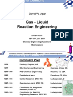 Gas-Liquid Reaction - Lecture 1