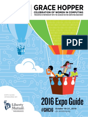 GHC 2016 Expo Guide September | Association For Computing