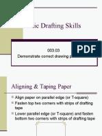 Unit C Basic Drafting Skills Procedures