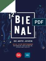 Programacion Completa BIENAL 2016