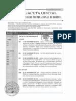 Decreto Supremo N° 2993 de Modificaciones al Reglamento del Codigo tributario D.S. 27310