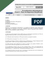 NPT 001 Parte5 Plano Simplificado