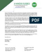 2017 Sponsorship Letter Handos Sugbo