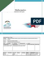 Fifth Grade Mathematics