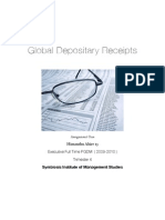 GDR - Global Depository Receipts