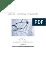 GDR - Global Depository Receipts