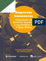 Bananeras Vulenración DDHH Bajo Atrato