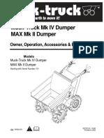 Muck Truck Max Manuel