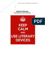 literary elements - definitions and examples