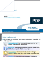 Altera Online Training Read First