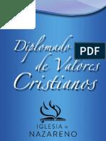 Diploma Do Valor Es Cristianos miedd