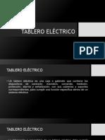 TABLERO ELÉCTRICO