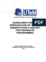 Thesis Guidelines New2