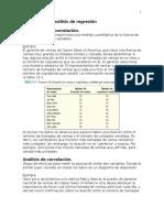 D-Correlación y Análisis de Regresión