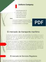 Mercados de Fletes%2c Transporte Maritimo
