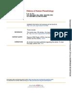 History of Human Parasitology 2002