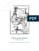 ergonomics report screened