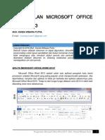 [Pertemuan 1] Pengenalan Microsoft Office Word 2013