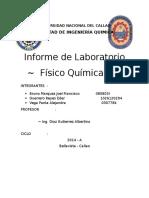 Informe de Laboratorio Fisicoquimica1 Peso molecular