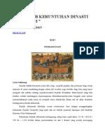Penyebab Keruntuhan Dinasti Abbasiyah