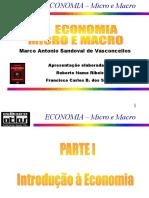 Transparências ECONOMIA Micro e Macro Parte I Modificado