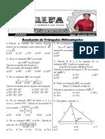 13 Resolución de Triángulos Oblicuángulos(1)