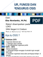 Struktur Fungsi Dan Tugas Pengurus Osis