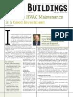 Buildings - Shaker - HVAC Maintenance