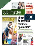 Publimetro 29 de Noviembre 2016 - Publimetro