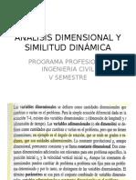Análisis Dimensional y Similitud Dinámica