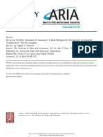 Essentials of Insurance - A Risk Management Perspective