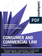 [Judith Tillson] Consumer and Commercial Law
