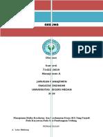 Project Paper manajemen risiko