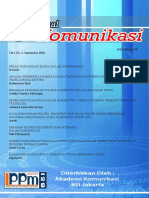 Jurnal Komunikasi 2010 September I No.2