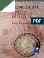 Astromedicina. La Influencia de Los Astros en La Salud (INCOMPLETO) Franco Rossomando