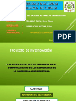 Proyecto de Investigación de Las Tic Realizado por Edin Rimarachin Medina