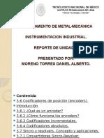 Unidad 3. Moreno Torres Daniel Alberto. Trasductores de Posicion y Desplazamiento.