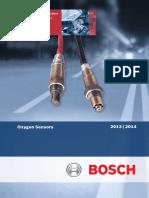 Bosch Australia Oxygen Sensor Catalogue 2013