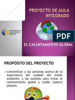 Presentación inicial proyecto