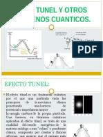 Efecto Tunel y Otros Fenomenos Cuanticos