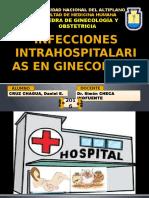 Control de Infecciones Intrahospitalarias en Ginecología Daniel Cruz - Puno