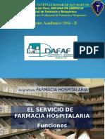 Primera Farmacia Hospitalaria 2016
