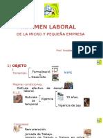 Régimen Laboral MYPE - O.C.E. - (0720) (1)