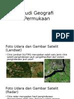 Studi Geografi Permukaan