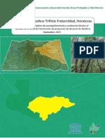 Ficha Reserva de Biosfera Trifinio Fraternidad Honduras