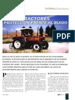 Tractores y Ruido