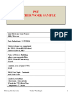 teacher work sample due 11-30-2016